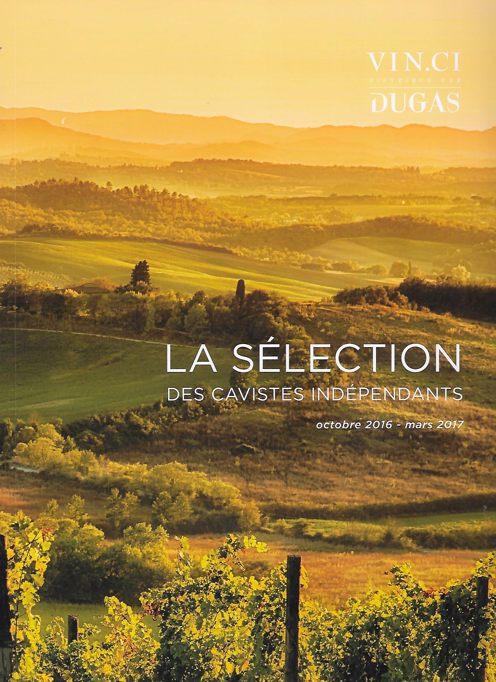 Le Catalogue Vinci des cavistes