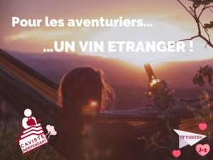 💝 J-1 dernière #ideecadeaucaviste - Spéciale Saint Valentin !  A tous les aventurier(e)s qui aiment bien prendre des risques et sortir des sentiers battus, choisissez un cadeau qui vous ressemble ! 🌞