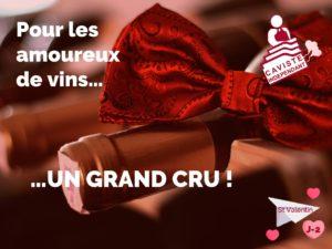 """⏰ J-2 avant la Saint Valentin !  La Saint Valentin c'est avant tout la fête de l'amour ! Alors pour tous les amoureux de vins, rendez-vous chez votre caviste indépendant pour trouver votre """"perle rare"""" 💖"""