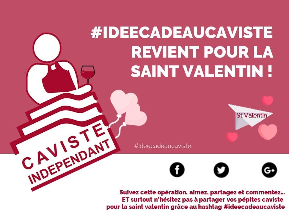 #ideecadeaucaviste St Valentin FCI