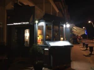 Le restaurant l'Escale à Palavas