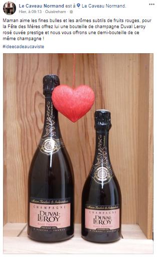 Pour Le Caveau Normand, on offre du Champagne(s) à la fête des Mères ! 🍾