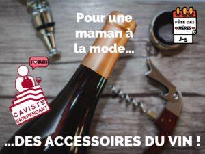 """👠  J-5 avant la Fête des Mères ! Pour les mamans """"fashion addict"""", votre caviste indépendant aura le dernier accessoire a la mode !"""