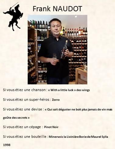 Franck NAUDOT:Les Caves Naudot – 03800 Gannat