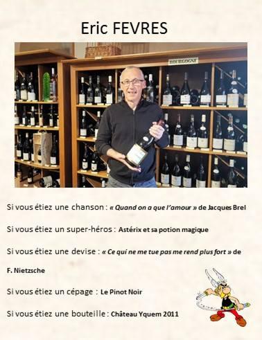 Eric FEVRE:Millésimes et Saveurs - 51100 Reims
