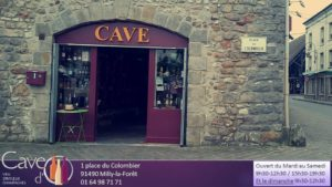 Milly la foret cave d'o