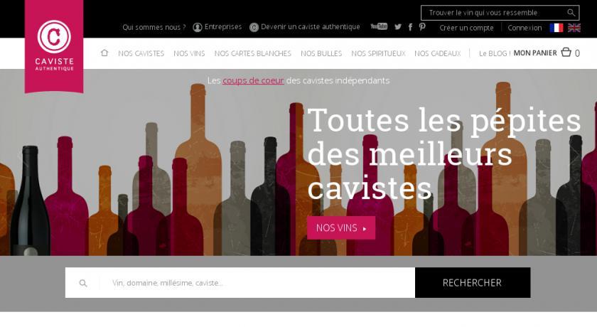 Site Caviste Authentique