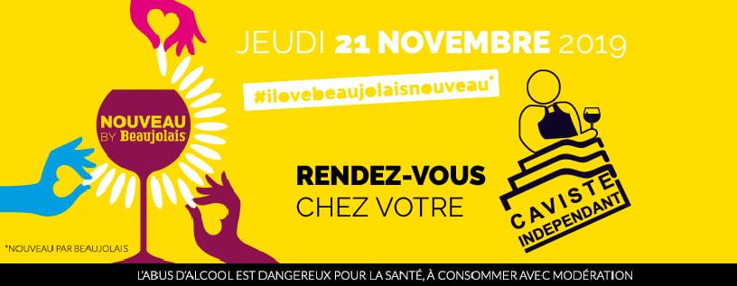 Le Beaujolais Nouveau 2019 chez vos Cavistes Indépendants